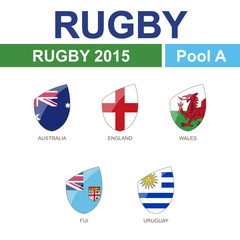 Rugby 2015, Pool A
