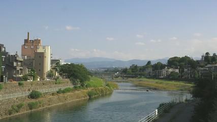 金沢犀川風景