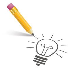 Pencil Shadow Bulb
