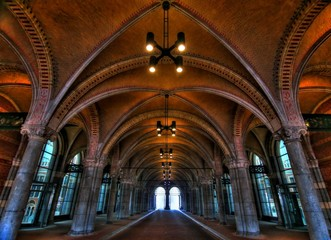 Rijksmuseum passage - HDR