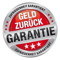 Geld zurück Garantie - Zufriedenheit garantiert
