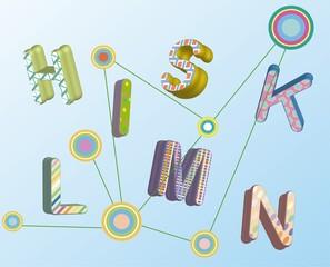alphabet/letters