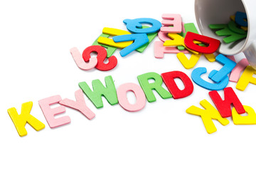 Keyword letters