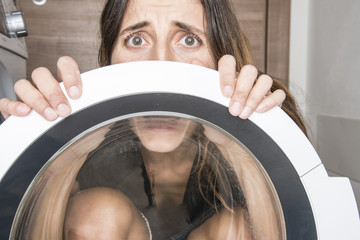 paura delle lavatrice