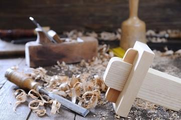 Carpenter tools.