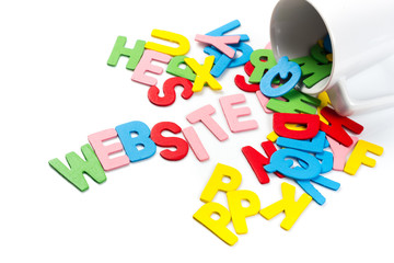 Website letters