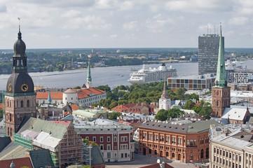View of Riga..