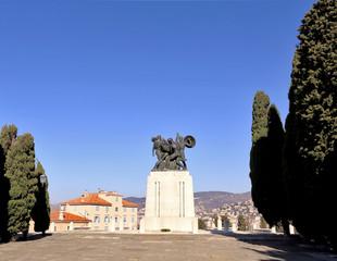 war memorial to San giusto, Trieste