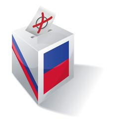 Wahlbox Haiti