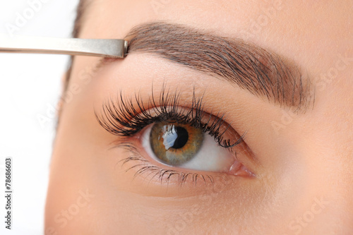 Make-up. Eyebrow Makeup. Eyes - 78686603