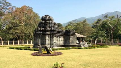 India. Goa.Mahadev temple XIII century in Tambdi Surla