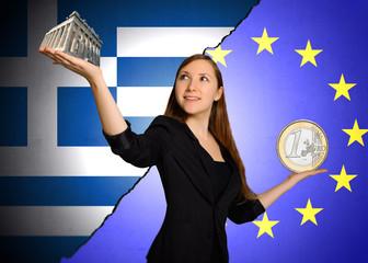Entscheidung zwischen EU und Griechenland