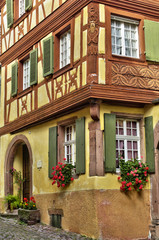 France, the small village of Kaysersberg in Alsace