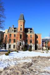 Das historische Rathaus der Stadt Schladming (Steiermark)