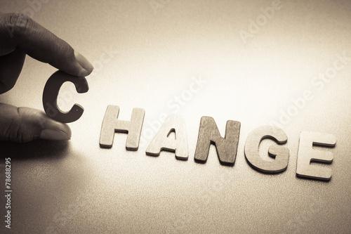 Zdjęcia na płótnie, fototapety, obrazy : Change