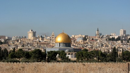 Temple Mount and the Dome of the Rock, Jerusalem, Israel
