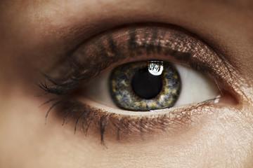 Close-up of beautiful eye