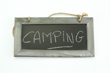 ardoise camping