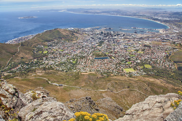 Cape Town mit Table Bay
