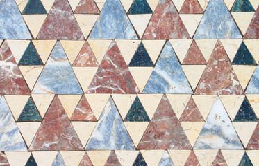 Floor tiles from the Church ruins of John the Baptist, Turkey