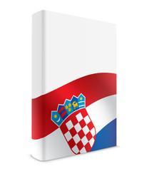 Croatia book cover flag white