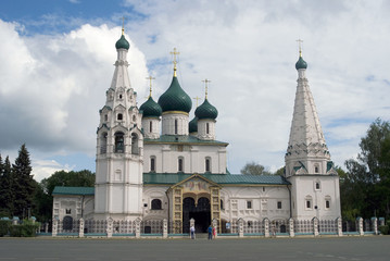 Church of Elijah the Prophet in Yaroslavl (Russia).
