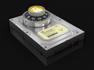 Hard Drive Protection (clipping path included)
