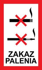 zakaz palenia e-papierosów, zakaz palenia