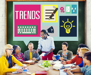Media Hot Trendy Latest Modern Meeting Concept