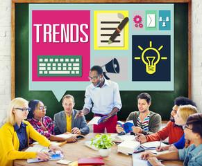 Media Hot Trendy Latest Modern Meeting Concept