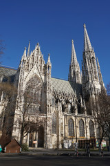 Neo gothic church in Vienna