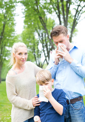 Allergie in der Familie
