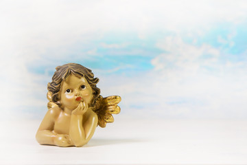 Träumender Engel