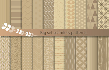 set patterns, pattern swatches included for illustrator user