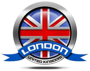 London UK - Metal Icon