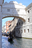 bridge of sighs and the prisons of Venice in Italy - 78692037