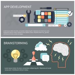 App development and brainstorming