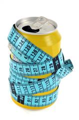 Soda et centimètre de couturière