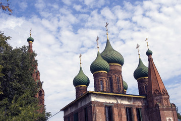 Church of Saint Nicolas in Yaroslavl, Russia.