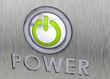Power Button - 3D