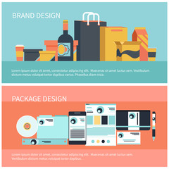 Package and brand design