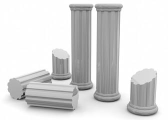 Ancient Columns - 3D