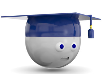 Graduate Character - 3D