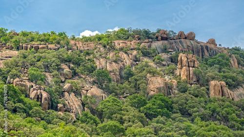 Papiers peints Colline Rocky Hills of Gaborone