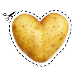 I love potatoes !