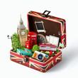 canvas print picture - London traveling concept
