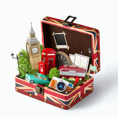 London traveling concept