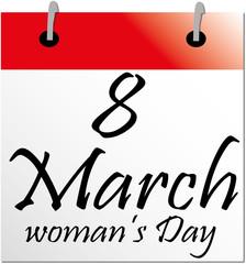 Giorno 8 marzo festa della donna