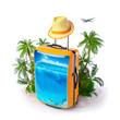Tropical background - 78696681