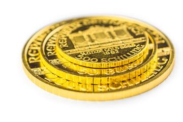 golden phillharmoniker coins